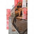 Raum: Pigment Tusche auf Photopapier 2016 14x10cm