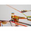 Streifenbild o.T. (4.3.14) Acryl auf Leinwand 2014 70x50cm
